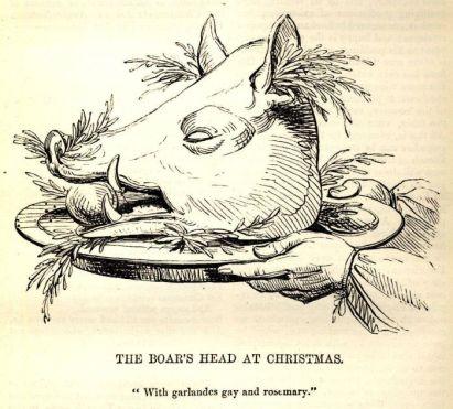 yule-boar-head